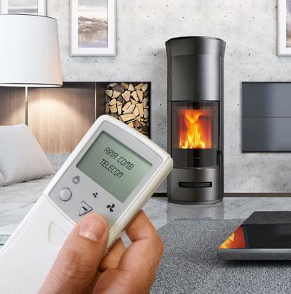 Stufe e climatizzatori - nina - Kalore & Benessere il clima ideale a casa tua, sempre - STUFA E924 in Maiolica