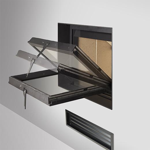 Stufe e climatizzatori - wave 110 air - Kalore & Benessere il clima ideale a casa tua, sempre - Focolare serie G