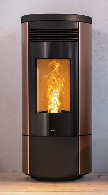 Stufe e climatizzatori - Style 180 Plus - Kalore & Benessere il clima ideale a casa tua, sempre - Stufa A11-A13 Round
