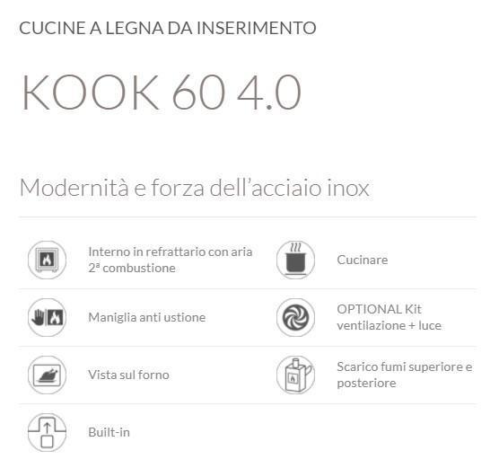Stufe e climatizzatori - nina - Kalore & Benessere il clima ideale a casa tua, sempre - KOOK 60