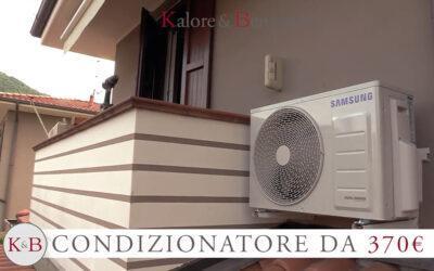 Installazione rapida di un impianto di climatizzazione